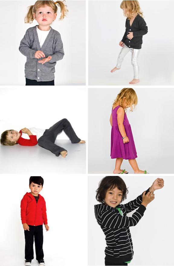 American apparel kids
