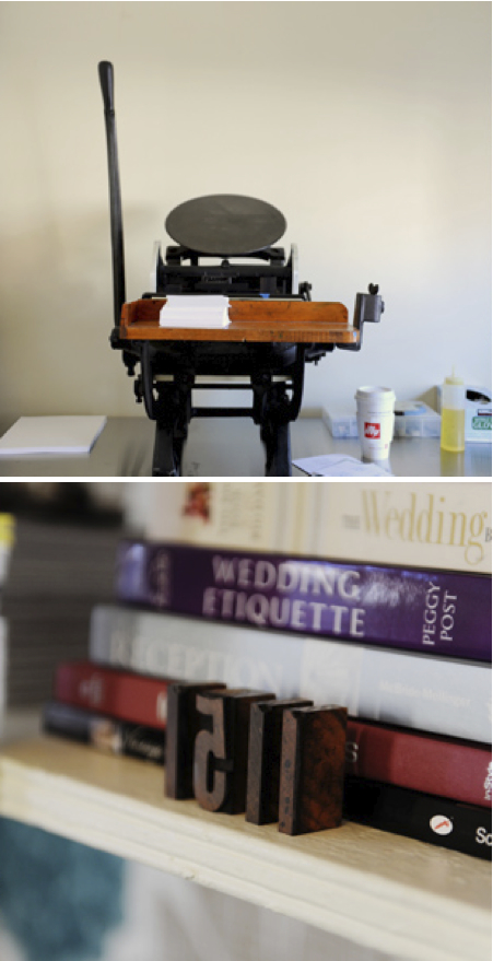 Ss letterpress