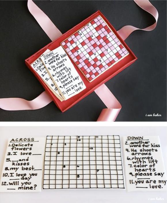 Crossword valentine