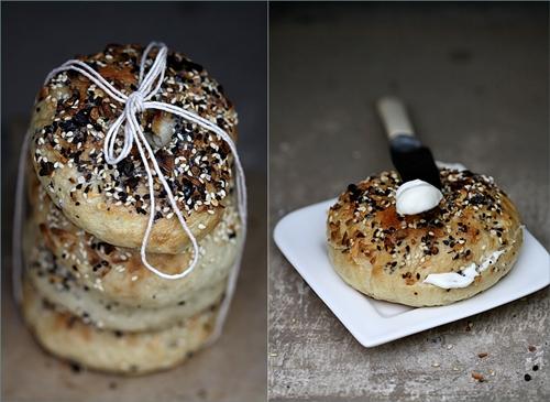 ny bagel homemade