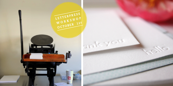 Letterpress-Workshop